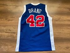 NBA LOS ANGELES CLIPPERS BASKETBALL SHIRT JERSEY CHAMPION #42 ELTON BRAND