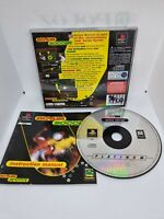 Actua Soccer Sony Playstation 1 PS1 PSOne Complete PAL Black Label CD Slim Case