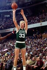 NBA Basketball Art Photo Poster: LARRY BIRD |24 inch by 36 inch| 01A