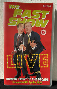 The Fast Show Live At Hammersmith Apollo 1998 VHS / PAL