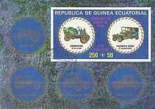 Timbre Voitures Guinée équatoriale o lot 6322