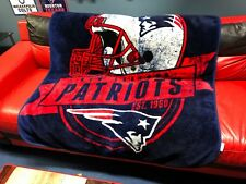 "M418 NFL New England Patriots Fleece Throw Blanket 48""x56"""