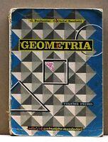 GEOMETRIA VOLUME PRIMO - [libro, edizione scolastiche mondadori]