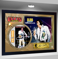 Elvis Presley Promised Land PRESLEY SIGNED FRAMED PHOTO CD Disc Perfect gift