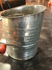 Vintage Bromwell Measuring Sifter