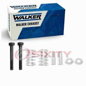 Walker Converter Inlet Exhaust Bolt & Spring for 2004-2016 Toyota Prius 1.5L id