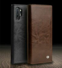 QIALINO Original Real Leather Flip Case Cover For Samsung Galaxy Note 10 S9 S10+
