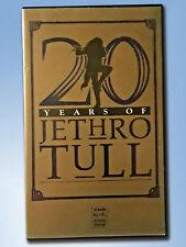 Jethro Tull VHS 20 Years of Tull Musik Folk Prog Classic Rock