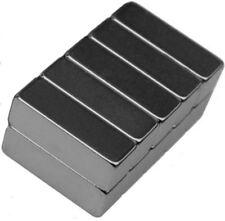 10 Neodymium Magnets 3/4 x 1/4 x 1/4 inch Bar N48