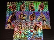 2008 AFL SELECT CLASSIC HOLOFOIL TEAM SET OF 10 CARDS HAWTHORN