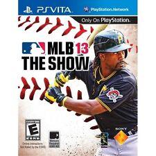 MLB 13 The Show Game 2013 PS Vita Sony PlayStation PS Vita Brand New