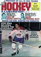 Hockey Illustrated Nov.1968-Jean Beliveau cover-no label