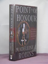 1st, signed by 2, Sarah Tolerence 1:Point Of Honour by Madeleine E Robins (2003)