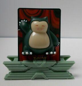 Pokemon Power 3D Card Snorlax Burger King 2000 Excellent