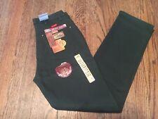 Wrangler Womens Cowboy Cut Low Rise Slim Fit Size 3/4 x 32 green Jeans 18mwz $44