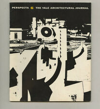 1960 Isamu Noguchi PERSPECTA 6 Yale Architect Journal Le CORBUSIER Charles MOORE