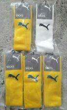 Puma Football Soccer Socks Kneehigh 5 Pairs Size us 7-9 us 3.5-6 Wholesale