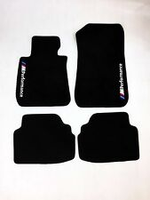 New Car Floor Mats Carpets Black with ///M PERFORMANCE Emblem BMW 3 E92 Coupe