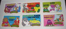 1980 Kenner Sweet Pickles Mini Comics x 6 From Unproduced Toys 1979