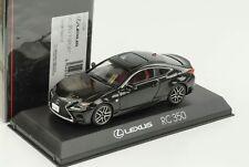 Lexus RC 350 F Sport stralight schwarz 1:43 Kyosho diecast