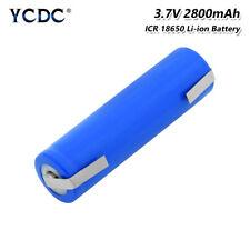 Batería recargable de Li-Ion 18650 3.7V 2800mAh con fichas para Linterna Toys 09