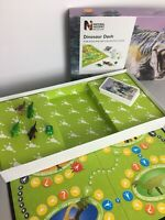 Dinosaur Dash Board Game By The Natural History Museum - Complete