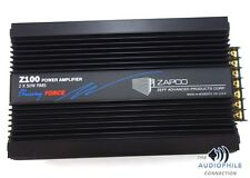 ZAPCO Z100 THE DRIVING FORCE SOUND QUALITY AMPLIFIER ~ RARE ROBERT ZEFF DESIGN!