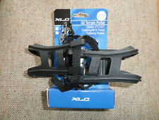 9/16 Thread all metal mountain bike pedals w/removable toe clips/straps quality