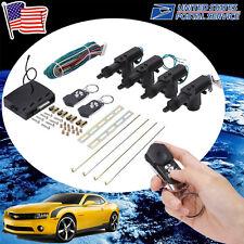CAR/AUTO KEYLESS REMOTE CONTROL 2/4-DOOR POWER LOCK/UNLOCK CONVERSION KIT BLACK