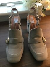 PUBLIC DESIRE BRAND NEW GREY SUEDE SHOES SIZE 6uk (Box 12)