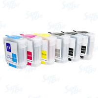 NON-OEM Refillable Ink Cartridges for HP 72 Designjet T610 T620 T770 T790 T1100