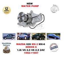 FOR MAZDA 626 MX6 2.5 24V MX3 1.8i V6 XEDOS 6 2.0 V6 1992-> NEW WATER PUMP