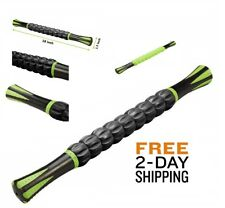 """18"""" Portable Massage Stick Muscle Roller Trigger Point Body Relief Gym Travel"""