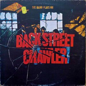 BACKSTREET CRAWLER - THE BAND PLAYED ON - LP RECORD - 1975 - FREE UK POST