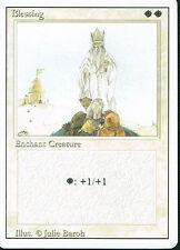 MAGIC THE GATHERING REVISED WHITE RARE BLESSING