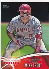 MIKE TROUT Angels BASEBAL The Future is Now TOPPS INSERT Baseball Card AL MVP!