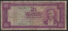 More details for turkey, 2½ lira, 1955, p-151a.