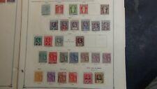 British Virgin Isls. stamp collection on Scott International pages