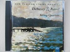 Debussy & Ravel - String Quartets - New Zealand String Quartet - CD SUPER RARE