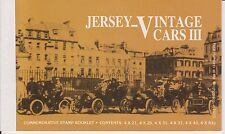 USED JERSEY VINTAGE CARS III CENTENARY OF MOTORING BOOKLET SB57 1999 10% OFF 5+