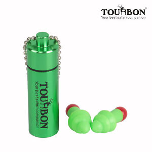 Tourbon Shooting Ear Plugs Hearing Protection Noise Reducer Earbuds w/Carry Case