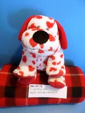 Ty Pluffies Harts the White dog With Red Hearts 2006(310-2573)