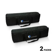 [2 Pack] Photo Studio Equipment Large Carrying Bag for Lighting Kit Heavy Duty