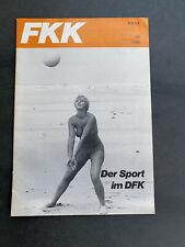 FKK Magazin Monatszeitschrift des Deutschen Verbandes der FKK e.V. (DFK) 07/1981