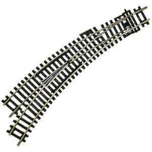 Hornby R8074 Left Hand Curved Points Track Pieces Single OO Gauge 1:76 Scale
