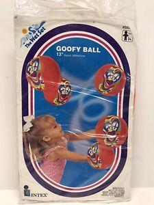 """Vintage Intex Goody Beach Ball The Wet Set 13"""" 1995 Pool Toys"""