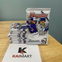 2020 Bowman Mega Box 10 Card Packs - LOT of 10 - Target Exclusive