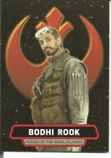 Star Wars Rogue One Series 2 Bodhi Rook Heroes Rebel Alliance Insert Card #HR-9