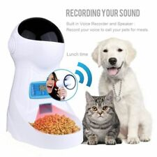 Automatic Pet Feeder With Voice Record Pets food Bowl For Medium Small Dog Cat