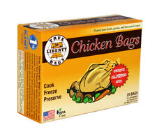 True Liberty Chicken Bags, Pack of 25 SAVE $$ W/ BAY HYDRO $$